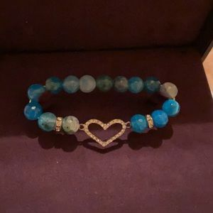 AUTHENTIC GENUINE STONE BRACELET NWT